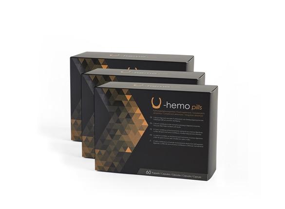 U-Hemo Pills (pack 3)
