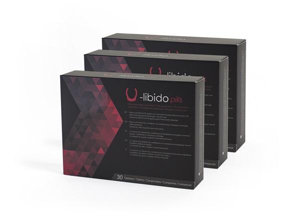 U-Libido Pills (pack 3)