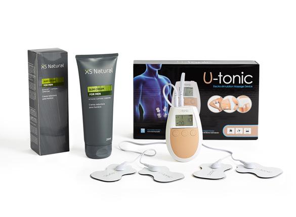 1 U-Tonic Device + 1 Xsnatural Slim Cream for Man (GRIS)