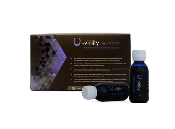 U-Body Virility Instant Shot (pack 15 viales 30ml)