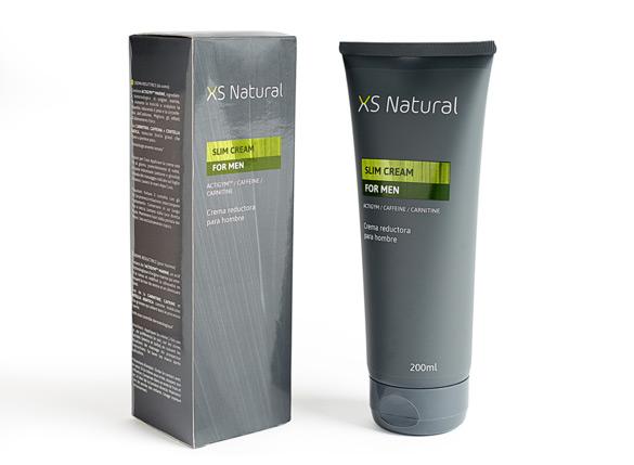 XS Natural slim cream for man (gris)